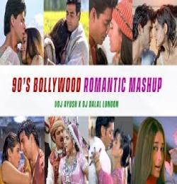 90s Bollywood Romantic Mashup - DJ Dalal London