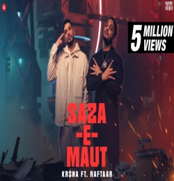 RAFTAAR  - Saza-E-Maut  Rap Song - Krisna Ft. Raftaar
