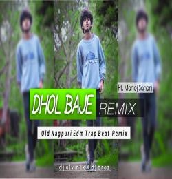 Dhol Baje Mandar Baje Nagpuri Song Dj - Dj Alvin LK nd Dj Anup Bhaskar