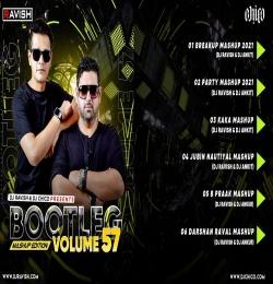 Bootleg Vol. 57 Non Stop Bollywood Remix Album - DJ Ravish X DJ Chico