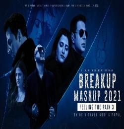 Breakup Mashup 2021   Feeling the pain 3 Ft. B Praak