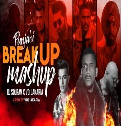 Punjabi Breakup Mashup 2021 - Dj Sourav X VDj Jakaria