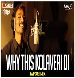 Why This Kolaveri Di (Tapori Mix) DJ Ravish, DJ Chico x DJ Nikhil Z