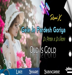 Gele Je Pardesh Goriya Moke Chhod Ke (Theth Nagpuri Dj Remix) Dj Pitter x Dj Vicky